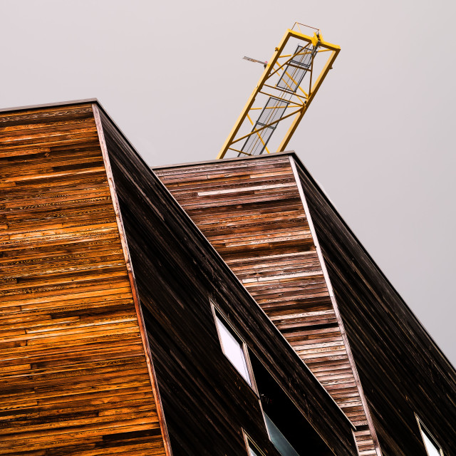 """Granary Wharf building"" stock image"