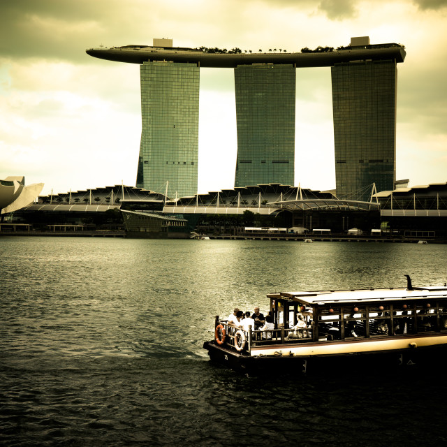 """Marina Bay Sands - Singapore"" stock image"
