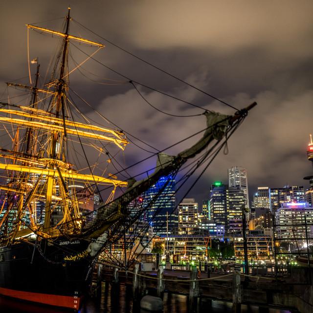 """HMB Endeavor - Sydney"" stock image"