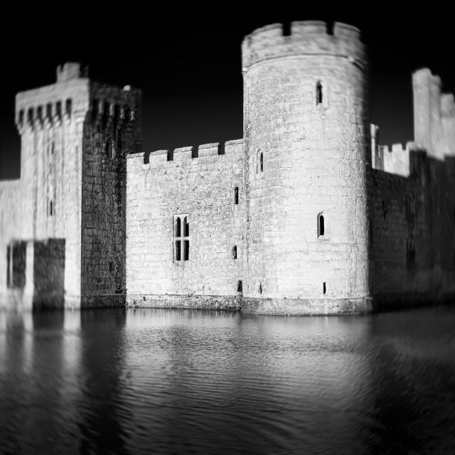 """Pinhole castle"" stock image"