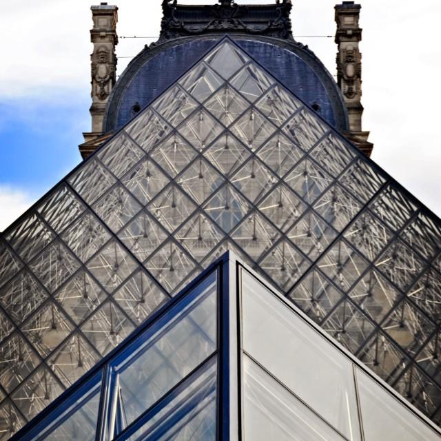 """Louvre Museum, Paris"" stock image"