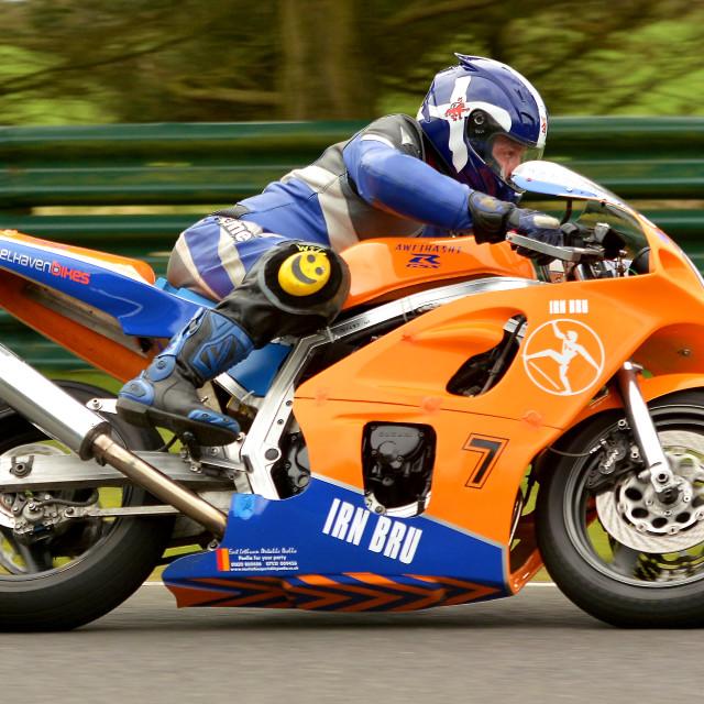 """British Mortor-Racing Championship"" stock image"