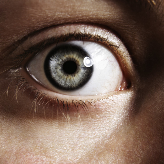 """Close up eye"" stock image"