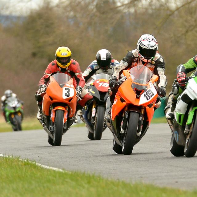 """British Motor-Racing Championship"" stock image"