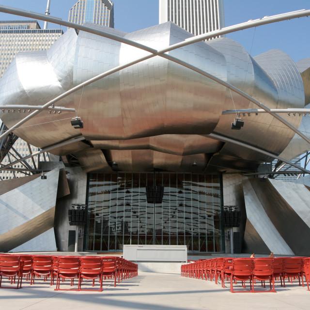 """""""Millennium Park, Chicago"""" stock image"""