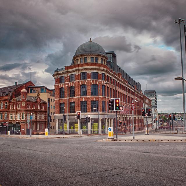 """North Street, Leeds"" stock image"