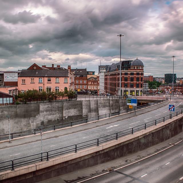 """""""Inner Ring Road, Leeds"""" stock image"""