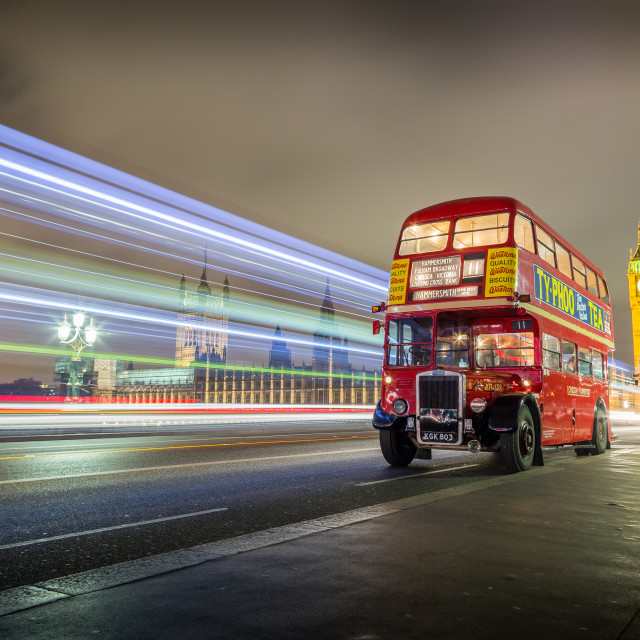 """Westminster Buses"" stock image"