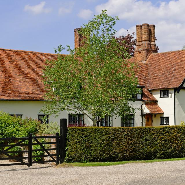 """Tudor Manor"" stock image"