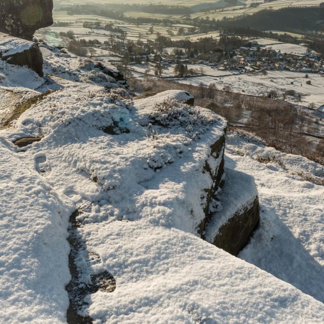 """""""Snow Ridge"""" stock image"""