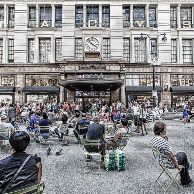 """""""Macy's in Herald Square"""" stock image"""