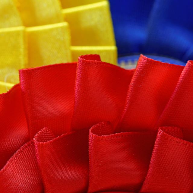 """General Election Rosettes"" stock image"