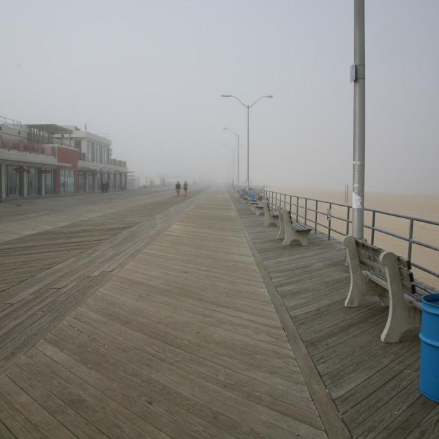 """Asbury Park Boardwalk"" stock image"
