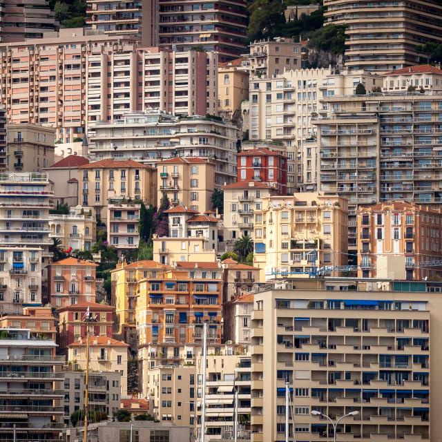 """Upscale Favela, Monaco"" stock image"