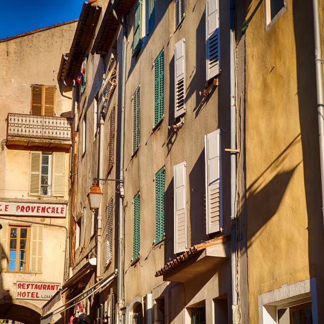 """Valbonne, France"" stock image"