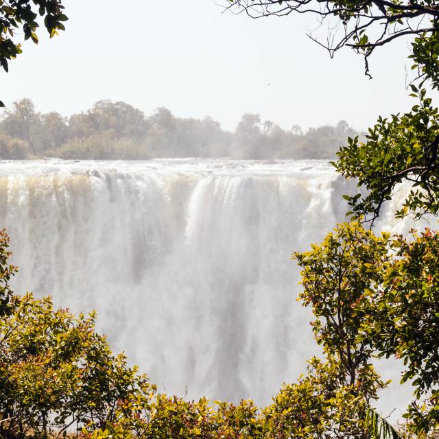 """""""Horseshoe Falls"""" stock image"""