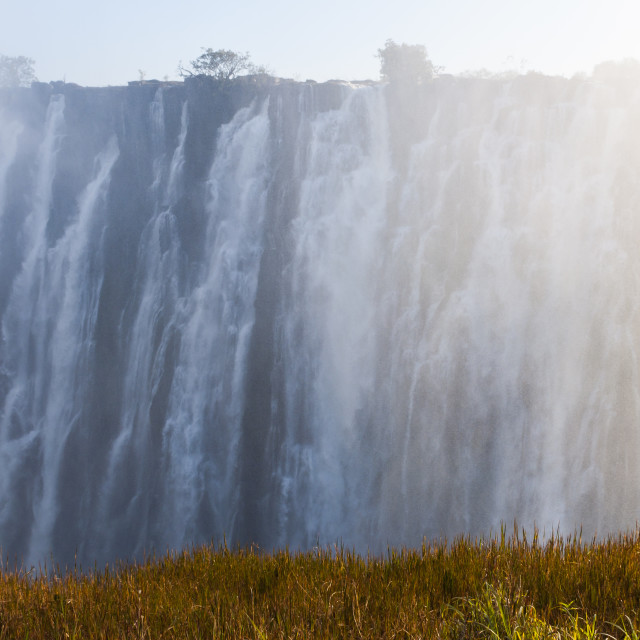 """Victoria Falls - Eastern Cataract"" stock image"