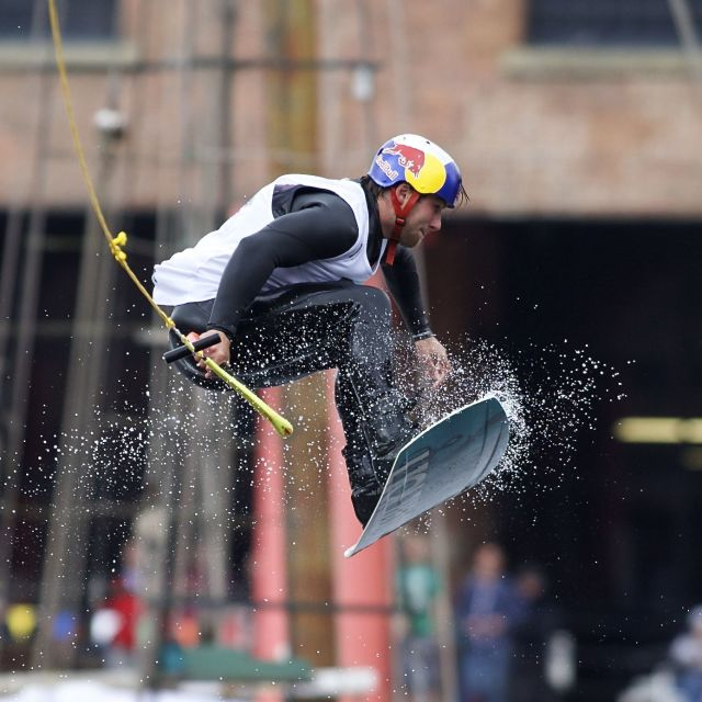 """Red Bull Wakeboard Championships"" stock image"