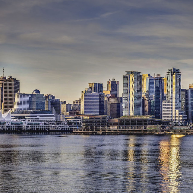 """""""Vancouver Waterfront"""" stock image"""