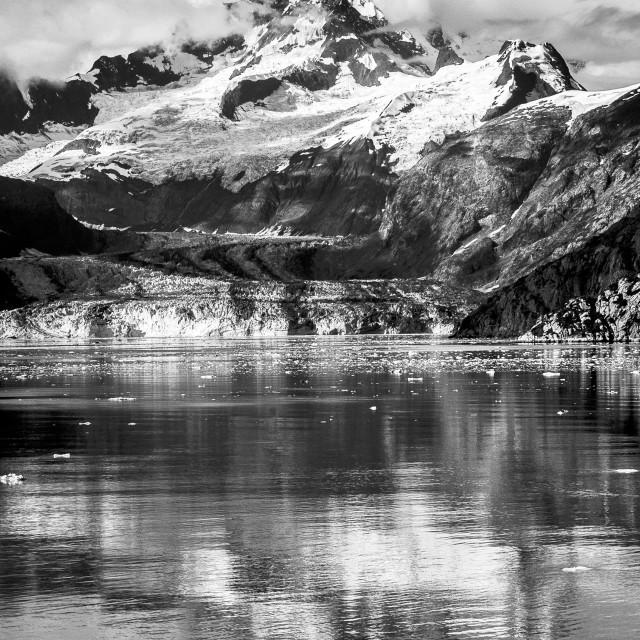 """Mountain Reflection Alaska"" stock image"