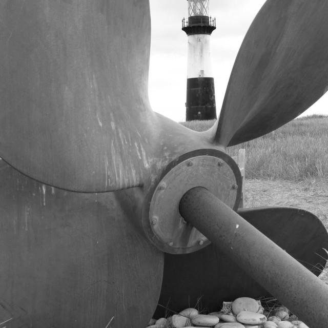 """Pembroke Lighthouse"" stock image"