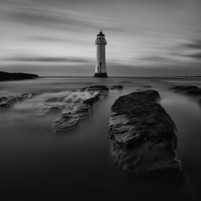 """Perch Rock"" stock image"