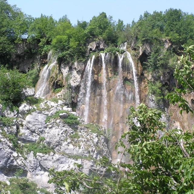 """Plitvice Lakes (Plitvička jezera)"" stock image"