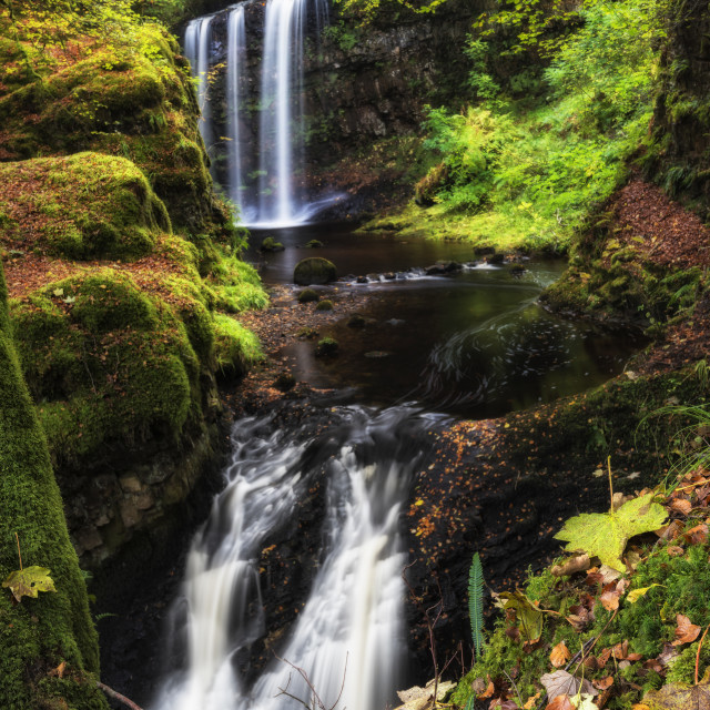 """Dalcairney Falls"" stock image"