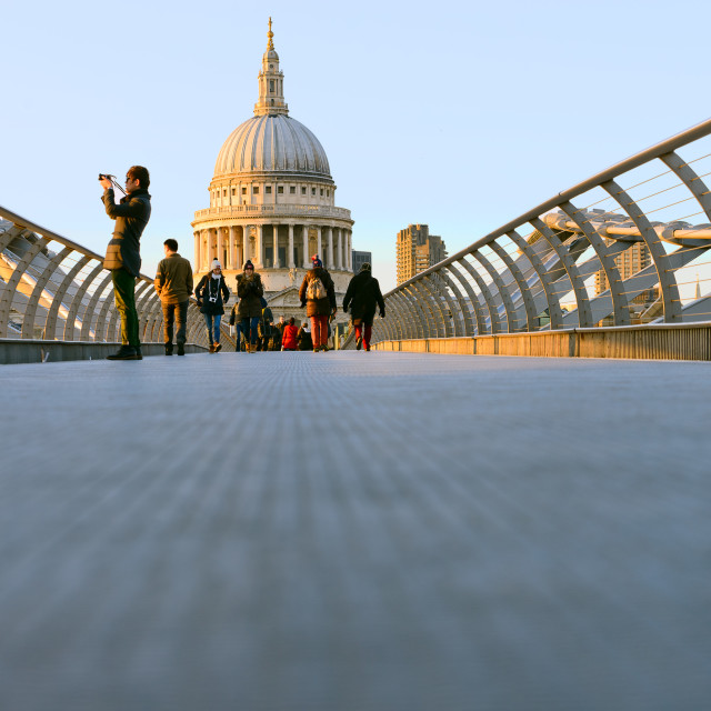 """""""St Paul's dome"""" stock image"""