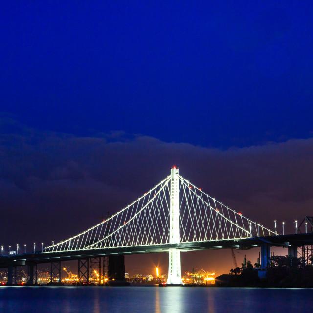 """Bridge of Light"" stock image"