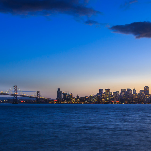 """City by the Bay"" stock image"