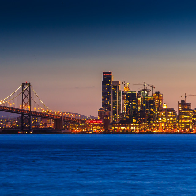 """City by the Bay 2"" stock image"