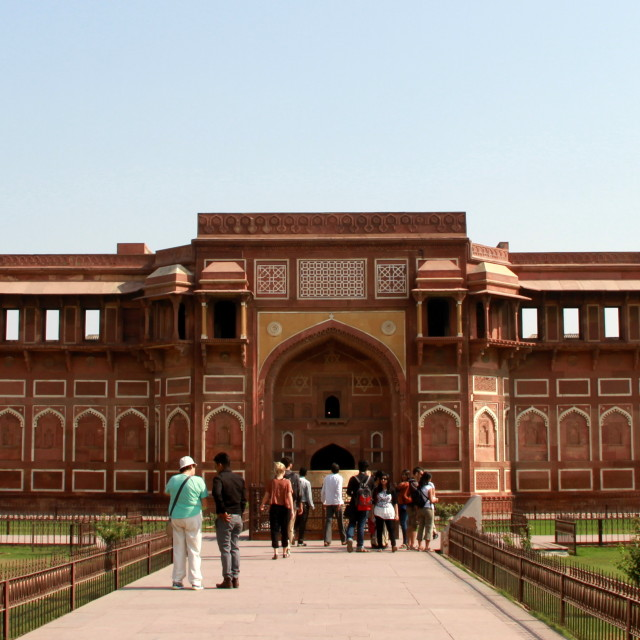 """Red fort"" stock image"