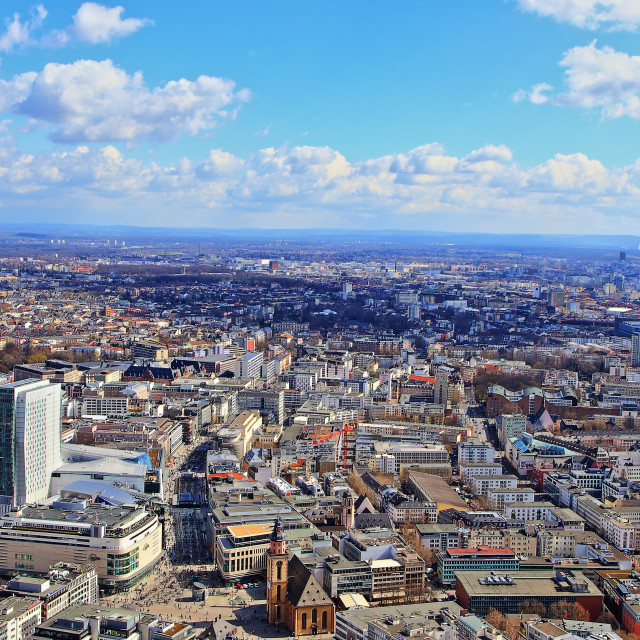 """Frankfurt 20"" stock image"