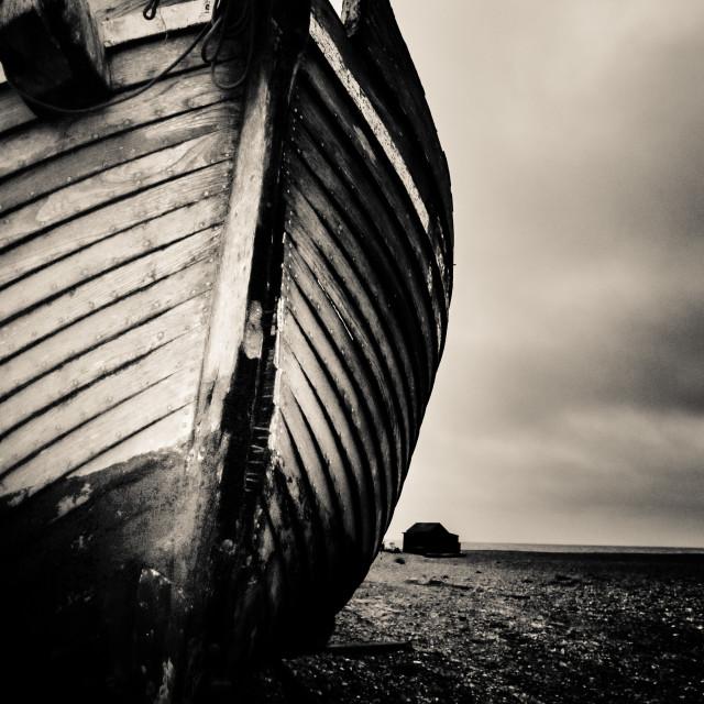 """moody boat"" stock image"