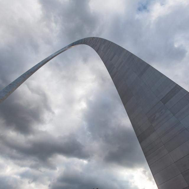 """Gateway To The West, Saint Louis"" stock image"