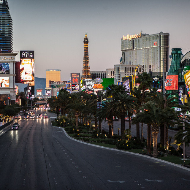 """""""The Strip"""" stock image"""