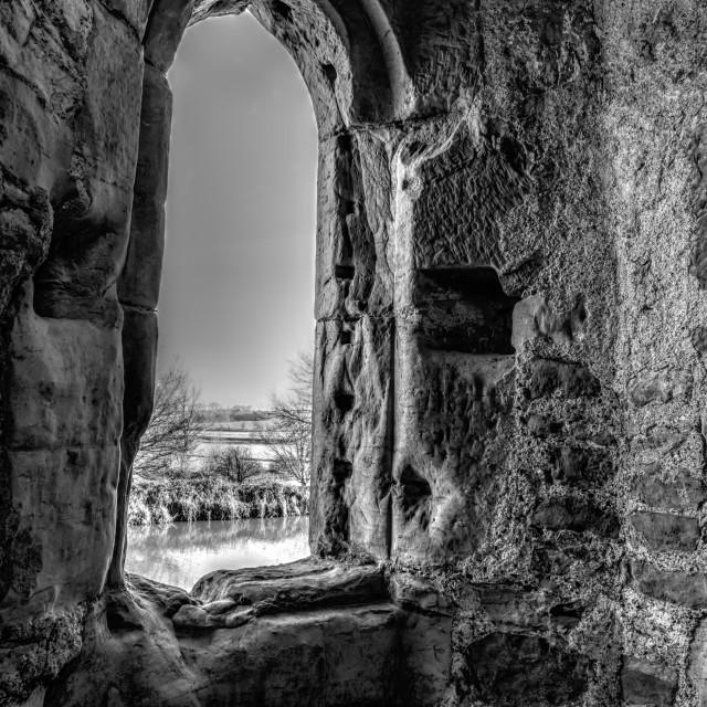 """Medieval Window"" stock image"