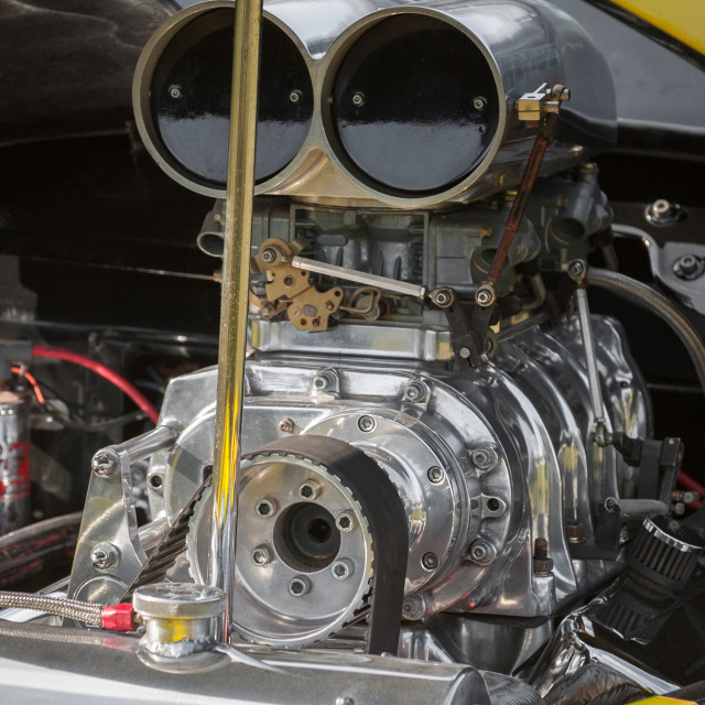 """""""dragster engine"""" stock image"""