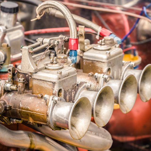 """""""vintage carburetor"""" stock image"""