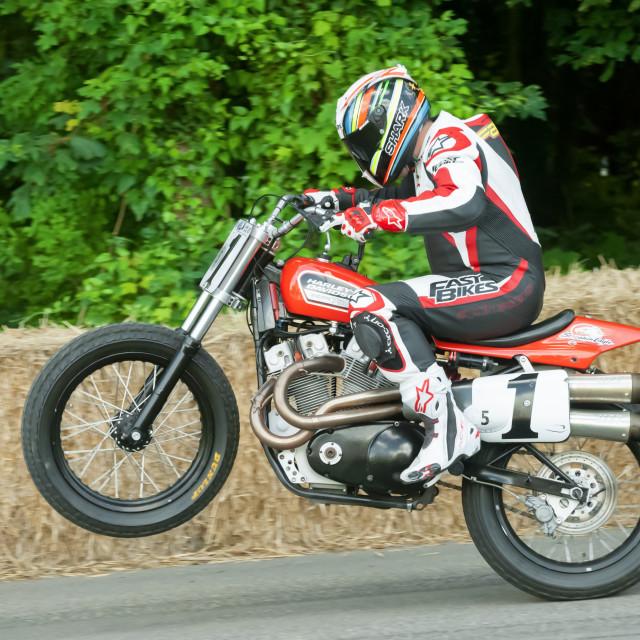 """Harley Davidson XR750"" stock image"