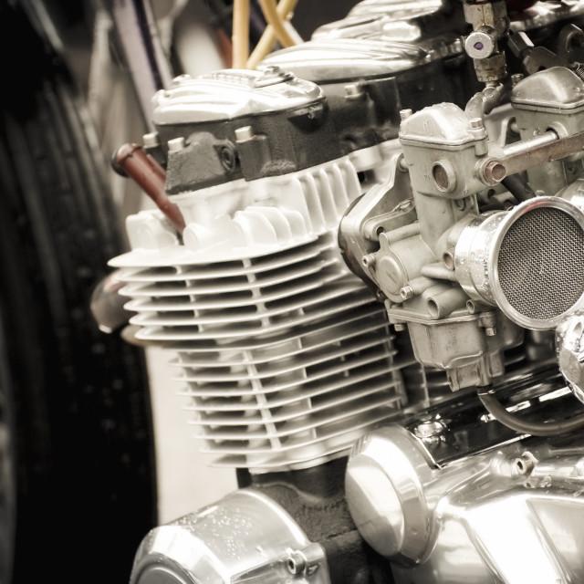 """motorcycle carburetor"" stock image"
