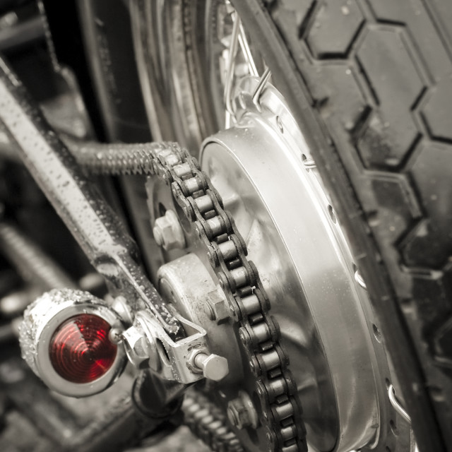 """motorcycle chain"" stock image"