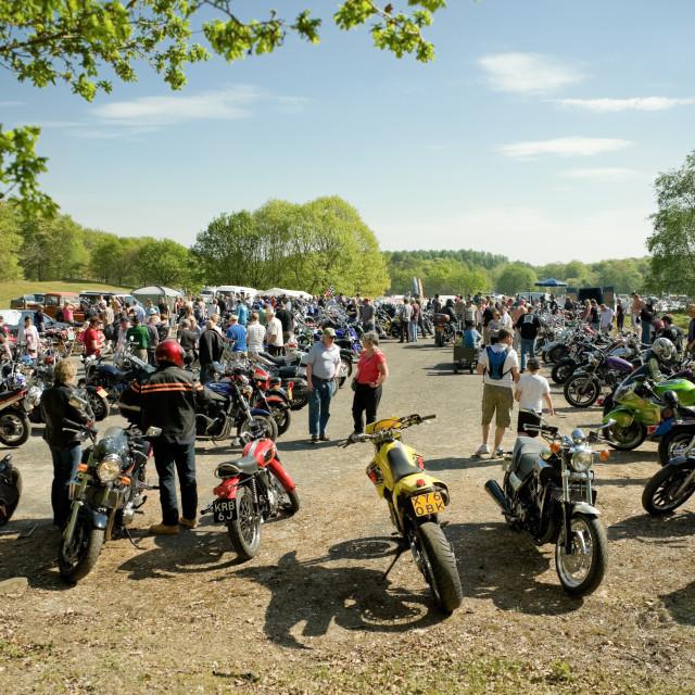 """motorcycle rally"" stock image"