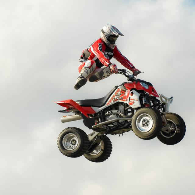 """stunt rider"" stock image"
