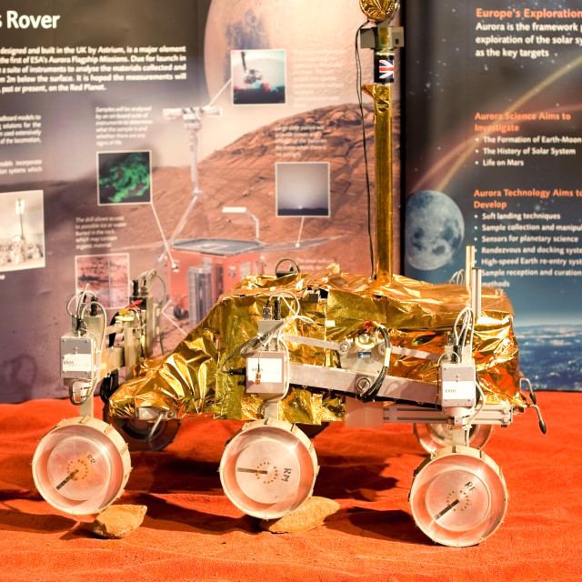 """mars rover"" stock image"