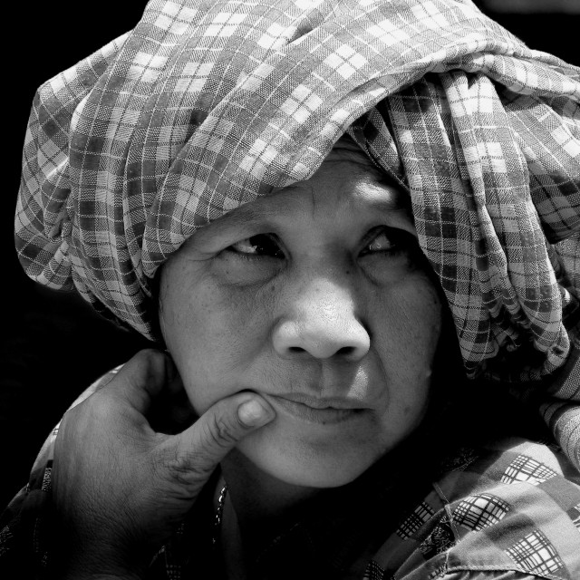 """Cambodian Woman"" stock image"