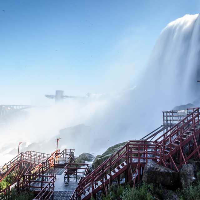 """Niagara Viewing Platform"" stock image"