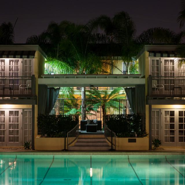 """Lafayette Swim Club"" stock image"