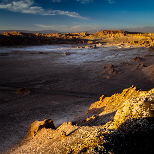 """Atacama desert"" stock image"